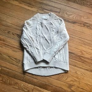 ZARA Cable Knit Sweater Fancy Winter Collection